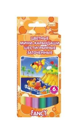 Карандаши цветные ACTION! 6 цветов