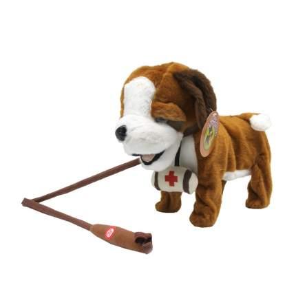 Интерактивное животное Пушистые друзья Собачка на поводке, ходит, виляет хвостиком и поет