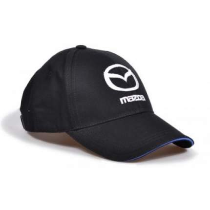 Бейсболка Mazda Baseball Logo Cap, Black, 830077566