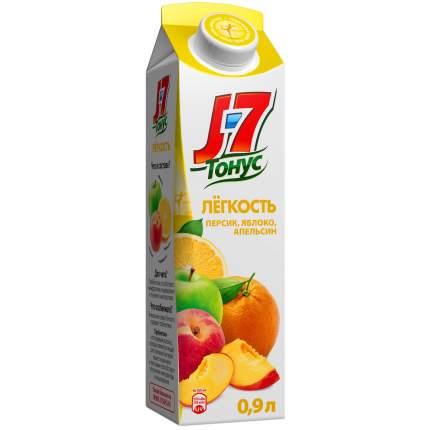 Нектар персик-яблоко-апельсин J7 тонус легкость с пребиотиком 0.9 л