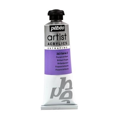 Акриловая краска Pebeo Artist Acrylics extra fine №2 пурпурный яркий 37 мл