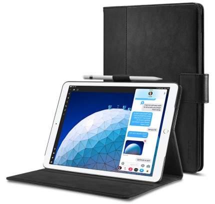 Чехол Spigen Stand Folio для iPad Air/Pro Black