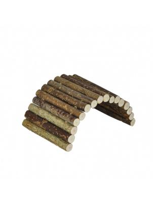 Мостик для грызунов Zoobaloo малый, дерево, арт.601, 20х10 см