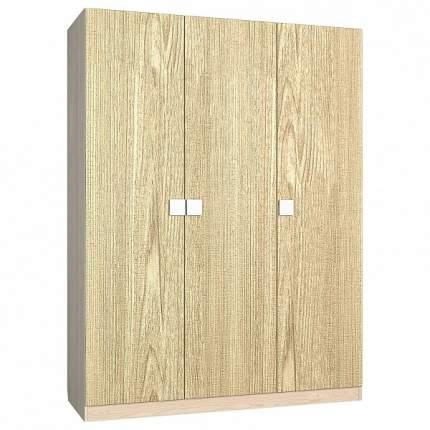 Платяной шкаф Компасс-мебель Александрия АМ-10 KOM_AM10_1 150x53x200,5, береза снежная