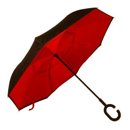 Зонт-трость UpBrella красный
