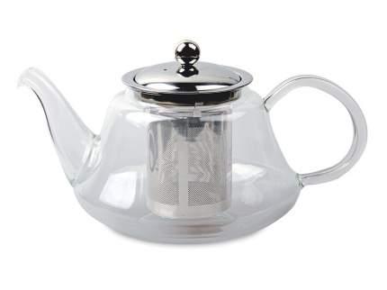 Чайник заварочный стеклянный Мелисса 1200мл с ситом из нержавеющей стали