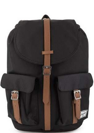Рюкзак Herschel 10233-00001 black/tan synthetic leather 11 л