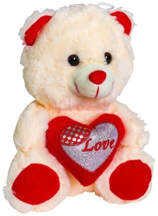 Мягкая игрушка Sima-Land Бежевый мишка с сердцем 4471240