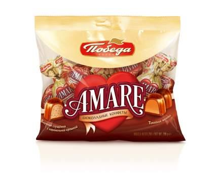 Конфеты подушка Победа Вкуса Амаре два вида шоколадных конфет с начинкой