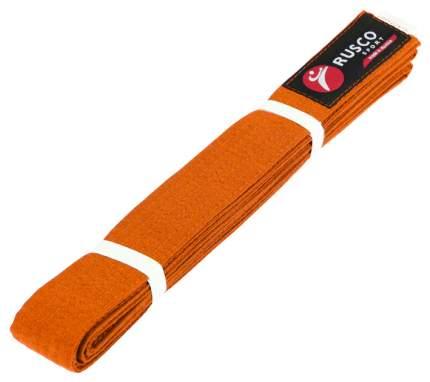 Пояс для карате 2,6 м Rusco Sport Оранжевый