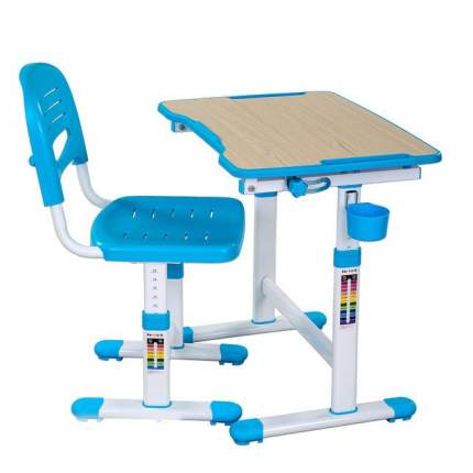 Парта со стулом Fun Desk PICCOLINO II Blue (голубой)