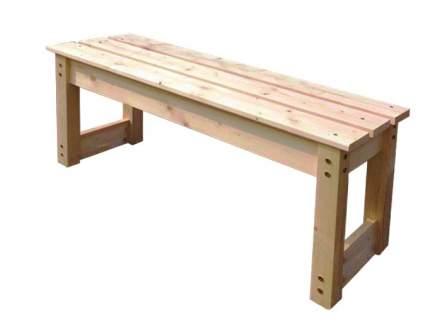 Садовая скамейка Green Mebel 1000 мм сосна