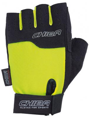 Перчатки для фитнеса Chiba Allround Line Power, черные, M