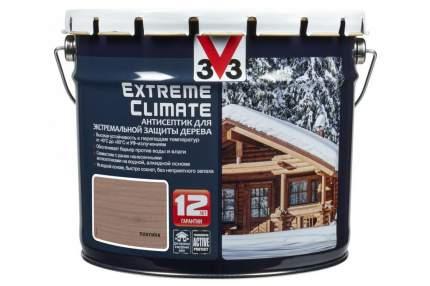 Антисептик для экстремальной защиты V33 Extreme Climate 9 л, Цвет платина
