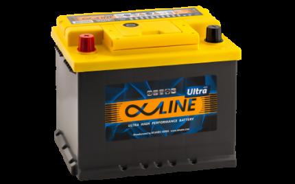 Аккумулятор ALPHALINE Ultra 56801 U PL 12В 68Ач 680CCA 242x175x190 мм Прямая (+-)