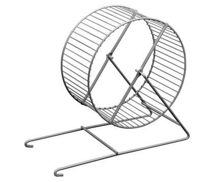 Беговое колесо для грызунов Marchioro, металлическое, диаметр 16 см