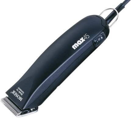 Машинка для стрижки домашних животных MOSER Max 45, со съемным ножом, черная, 45 Вт