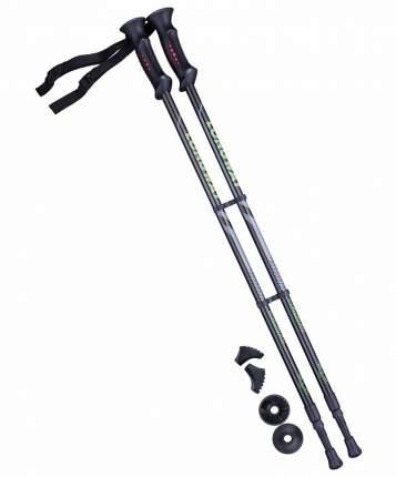 Палки лыжные Berger Longway 78-135 см черно-зеленые