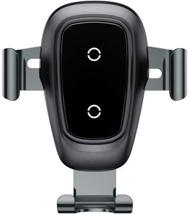 Беспроводная зарядка-автодержатель Baseus Metal Wireless Charger Gravity Car Mount Black
