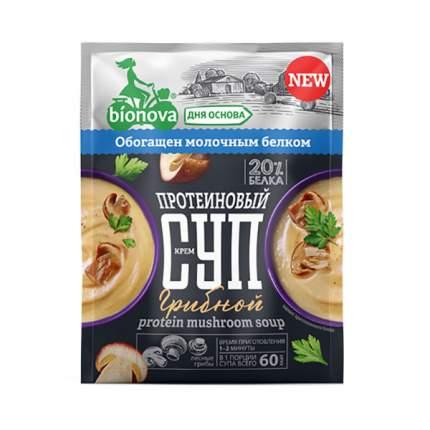 Крем суп Bionova протеиновый с грибами