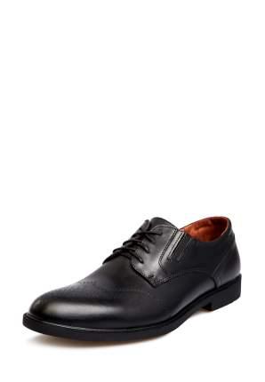 Туфли мужские Alessio Nesca 25806880 черные 42 RU