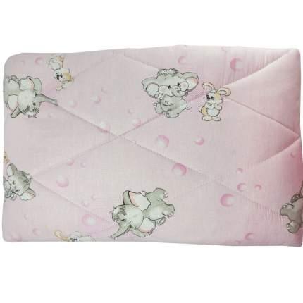 Одеяло стеганое Папитто шерсть 110*140 Розовый 0009