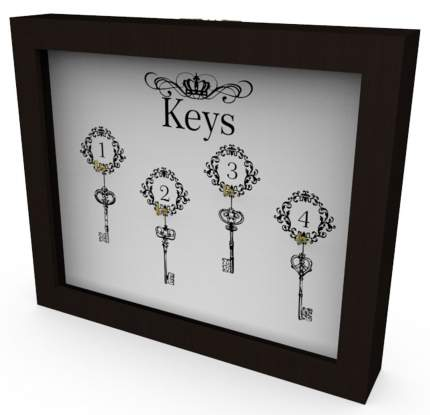 "Ключница ""Keys 1"" 26x22 см массив дерева, венге Дубравия KD-041-008"