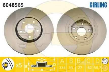 Тормозной диск GIRLING 6048565