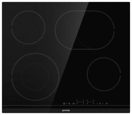 Встраиваемая варочная панель электрическая Gorenje ECT643BCSC Black