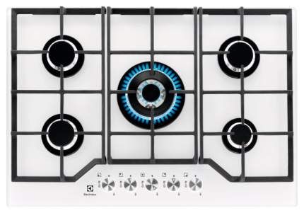 Встраиваемая варочная панель газовая Electrolux GPE373YV White