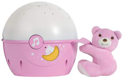 Светильник-проектор Chicco Next 2 Stars розовый