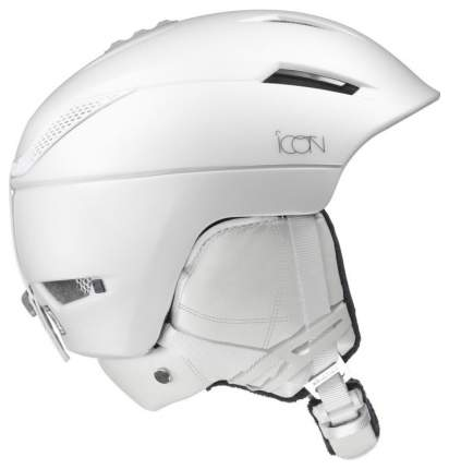 Горнолыжный шлем женский Salomon Icon2 Custom Air 2018, белый, S