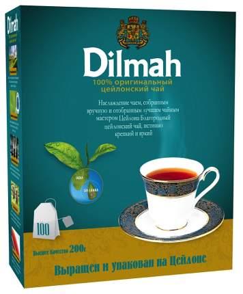 Чай черный Dilmah цейлонский 100 пакетиков