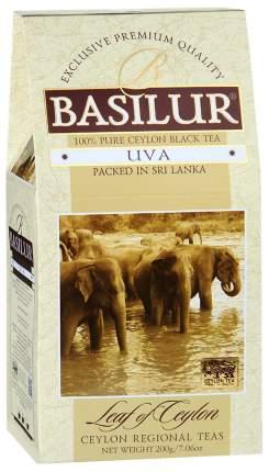 Чай Basilur Лист Цейлона черный цейлонский байховый листовой 200 г