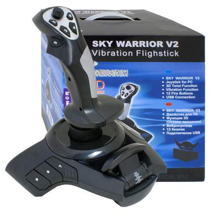 Джойстик Black Warrior BW-212 Sky warrior-V2 Black/Grey