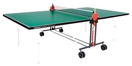 Теннисный стол Donic Indoor Roller Fun зеленый, с сеткой