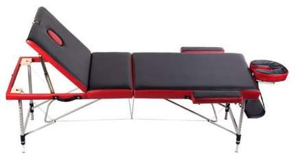 Массажный стол складной Casada Malta 3A red/black