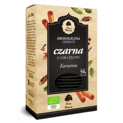Чай черный Dary Natury цейлонский пряный эко 25 пакетиков
