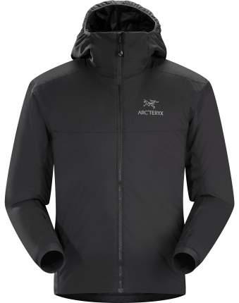 Спортивная куртка мужская Arcteryx Atom AR Hoody, black, M