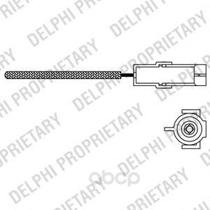 Лямбда-зонд Delphi ES1096612B1