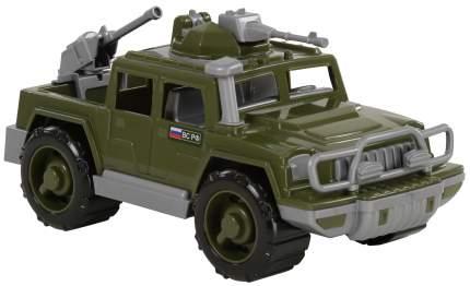 Автомобиль-пикап Полесье военный Защитник с 2-мя пулемётами