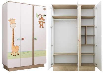 Шкаф трехдверный Cilek Safari Natura