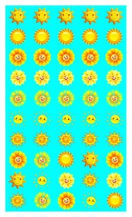 Набор для поощрения на Самоклеящейся Бумаге Солнышки Нм-7749
