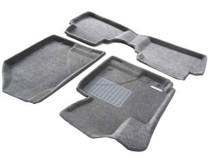 Комплект ковриков в салон автомобиля для Porsche Euromat Original Lux (em3d-004101g)