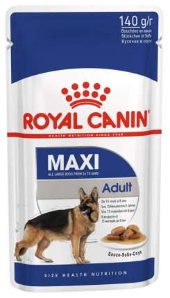 Влажный корм для собак ROYAL CANIN Maxi Adult, для крупных пород, мясо, 140г