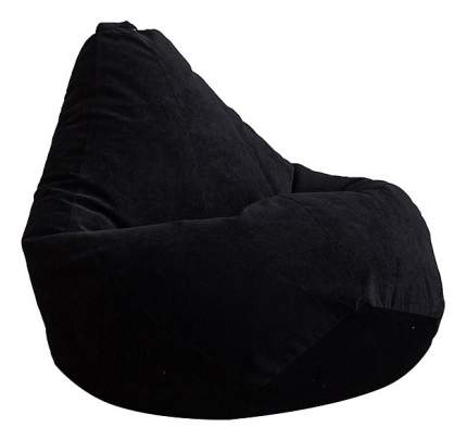 Кресло-мешок DreamBag Кресло-мешок, размер XL, велюр, черный