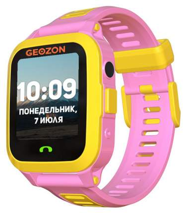 Детские смарт-часы Geozon Active Yellow/Pink (G-W03PNK)