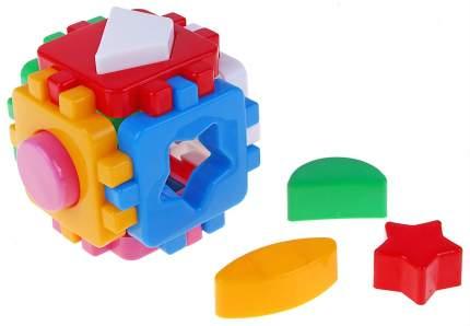 Сортер ТехноК Кубик Умный малыш Мини 12 элементов