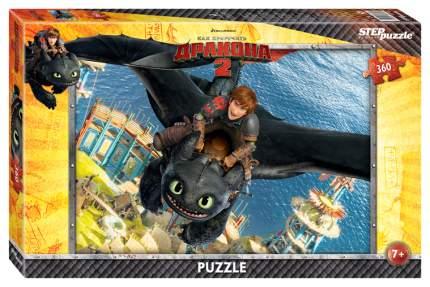 Пазлы Step Puzzle Как приручить дракона 360 элементов