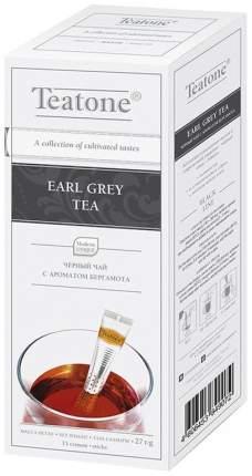 Чай Teatone earl grey черный байховый с ароматом бергамота в стиках 1.8 г 100 штук